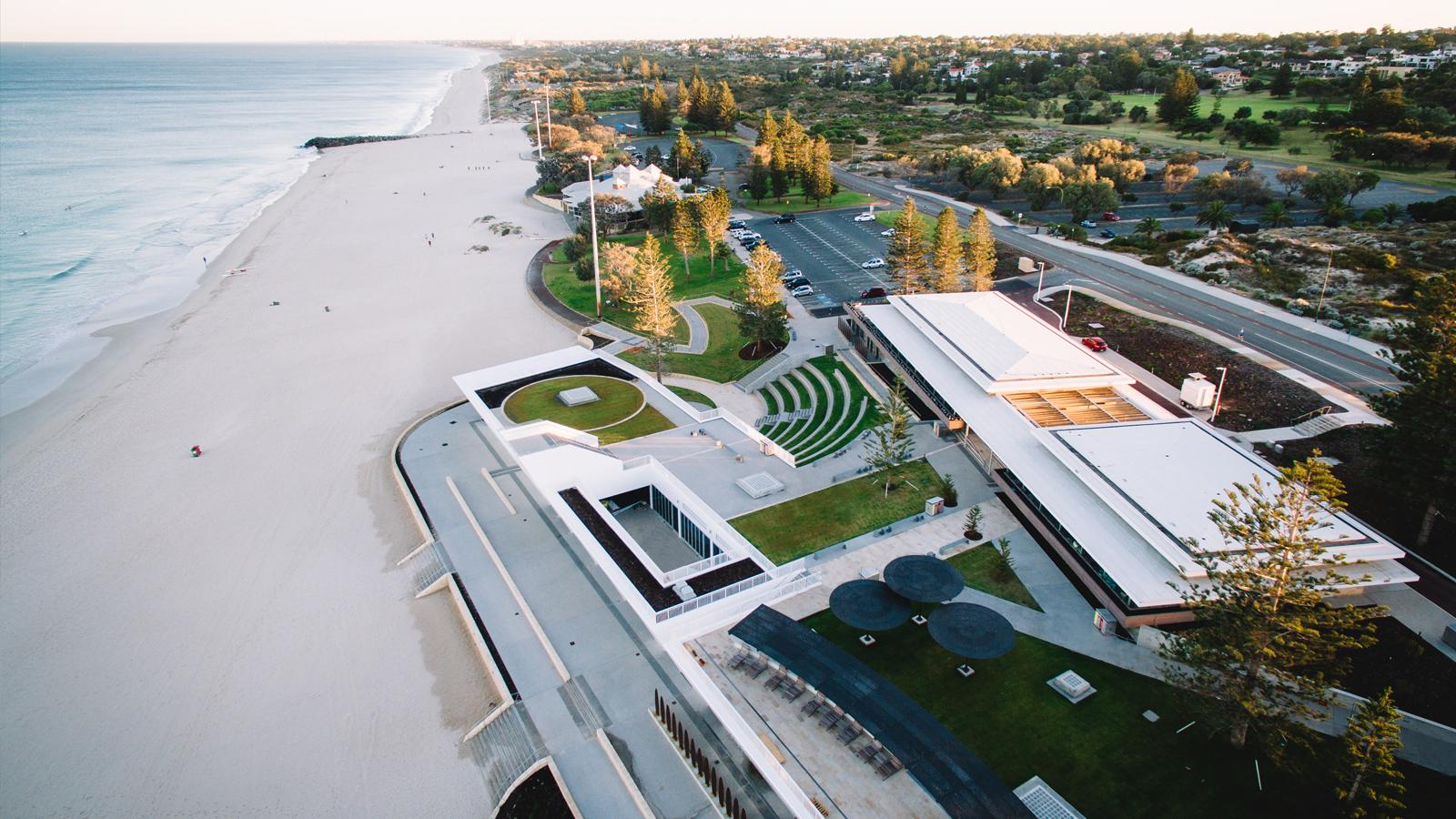 city beach surf club architecture design