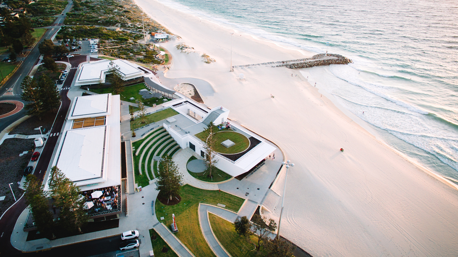 City Beach Surf Club Architecture Design